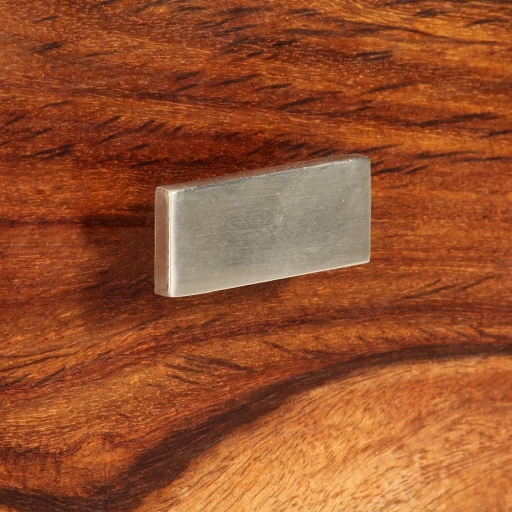 La boutique en ligne Table de chevet de lit en bois de sheesham solide avec 1