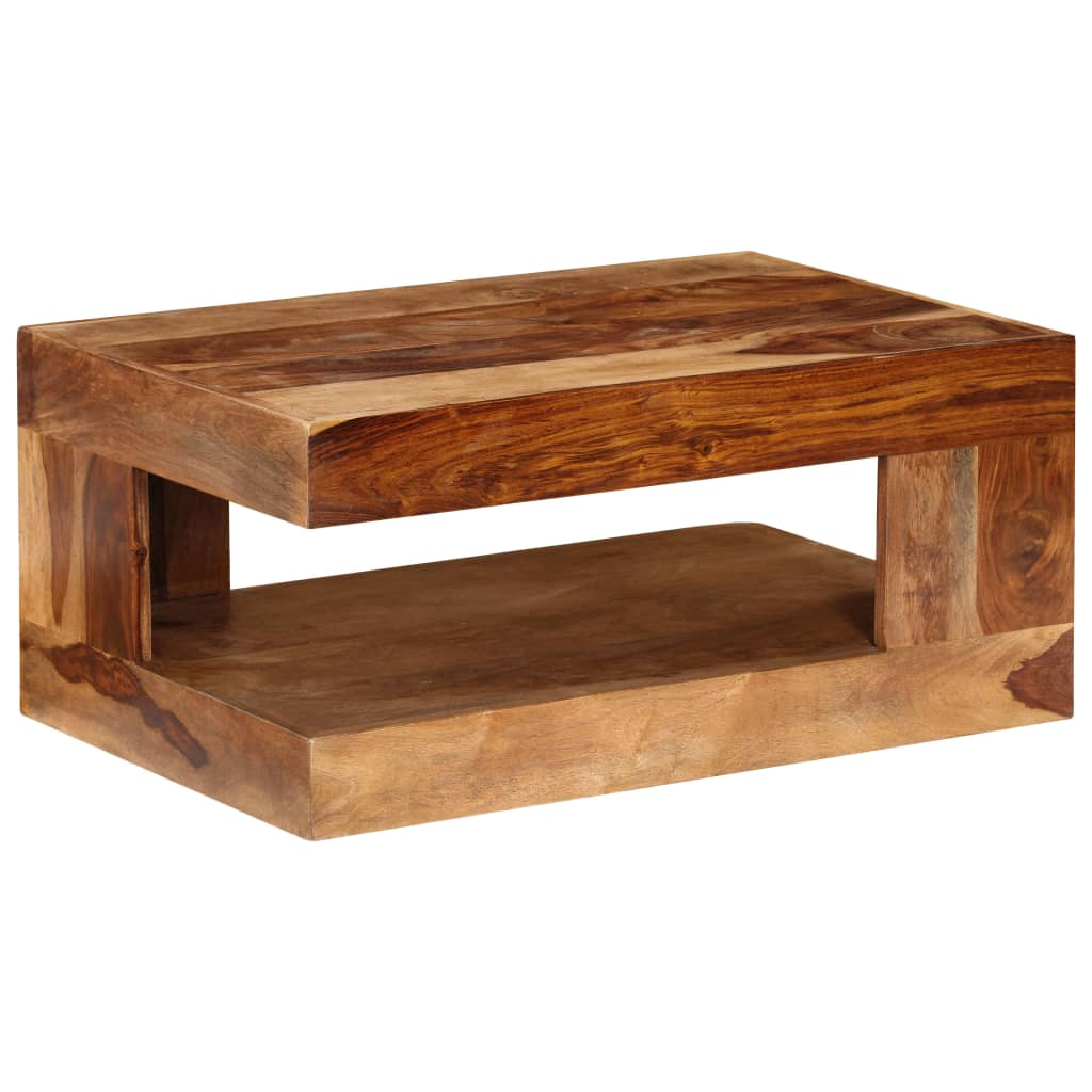 Vidaxlcouk sheesham solid wood coffee table for Coffee table uk online