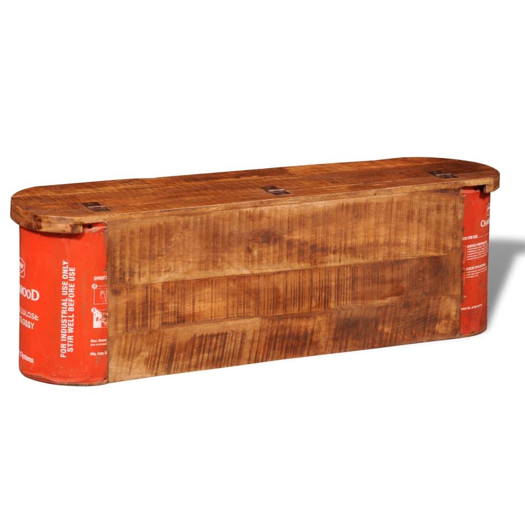 Banco aparador sólido de madeira com armazenamento www.vidaxl.pt #B73014 1024x1024