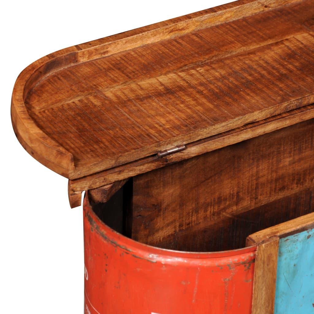 Banco aparador sólido de madeira com armazenamento www.vidaxl.pt #B23219 1024x1024