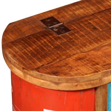 der truhe mit sitzbank aus wiederverwendetem holz online shop. Black Bedroom Furniture Sets. Home Design Ideas