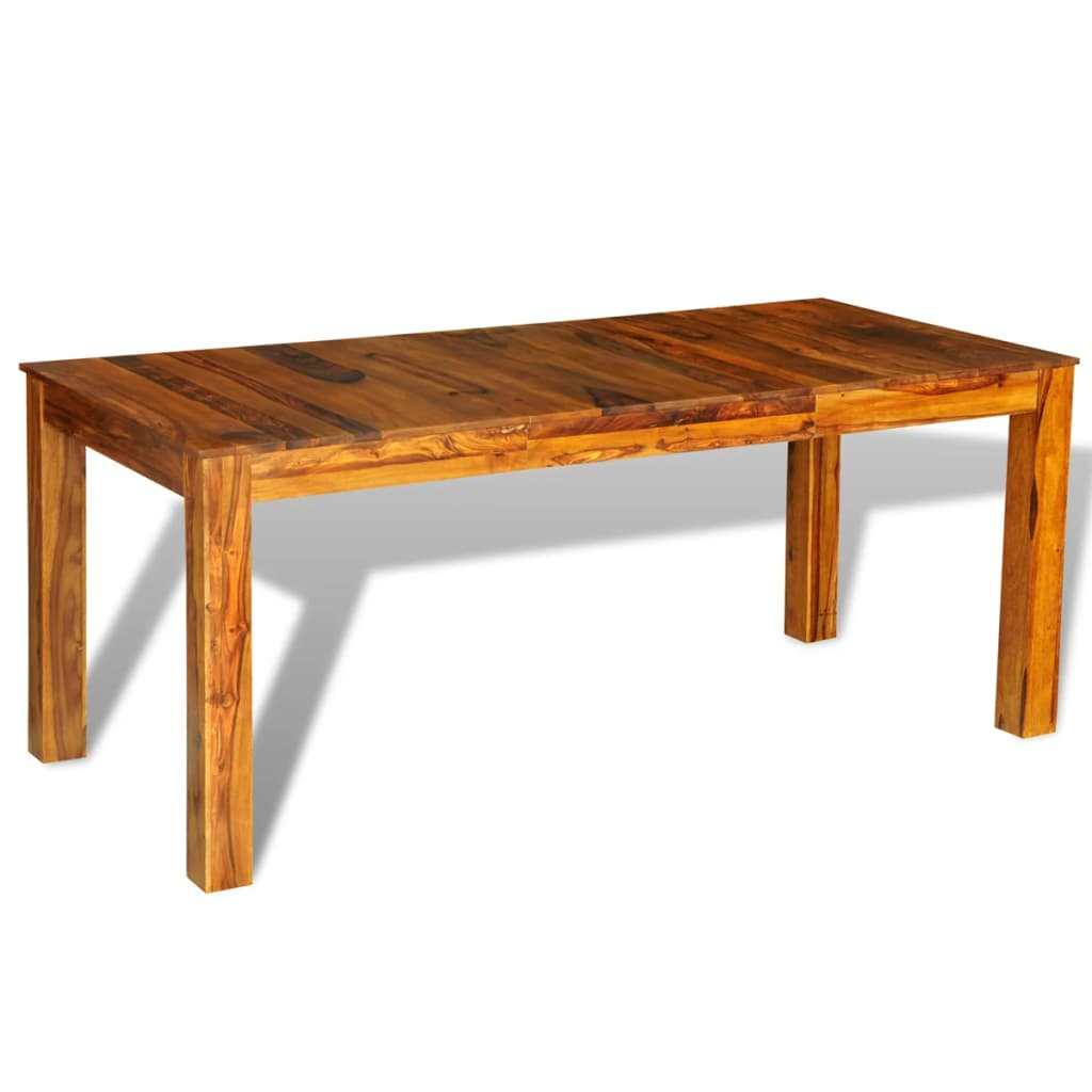 sheesham solid wood dinning table 180 x 85 x 76 cm