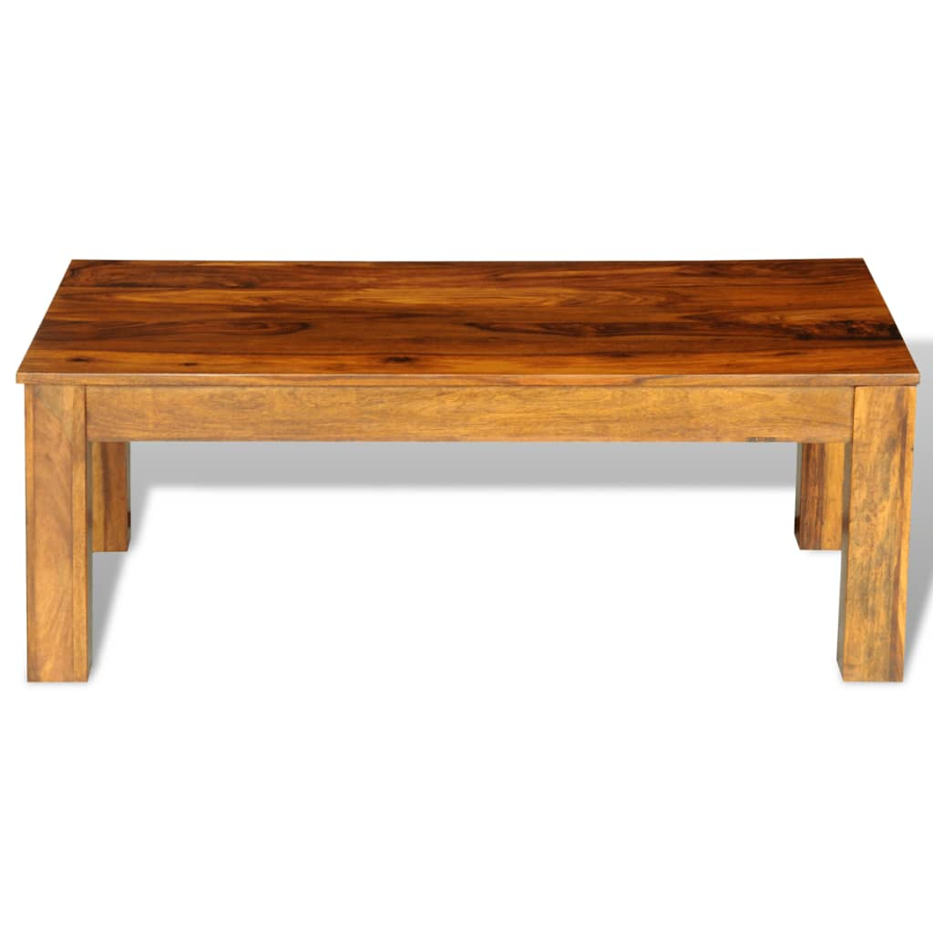 sheesham solid wood coffee table 110 x 60 x 40 cm www. Black Bedroom Furniture Sets. Home Design Ideas