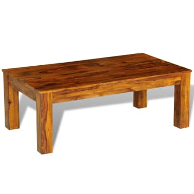 Sheesham solid wood coffee table 110 x 60 x 40 cm vidaxl for Coffee table 60 x 40