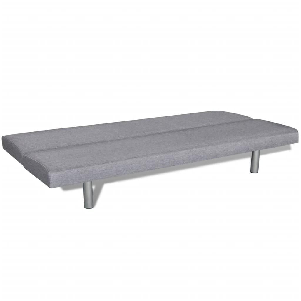 Sof cama color gris claro tienda online for Sofa cama gris claro
