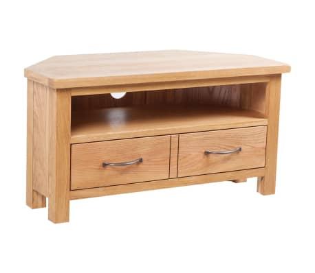 TV-Tisch mit Schublade 88 x 42 x 46 cm Eiche