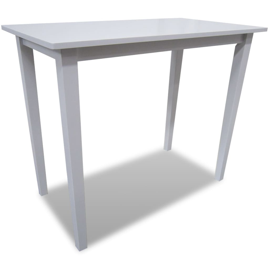 Acheter table de bar blanche en bois pas cher - Amazon table de bar ...