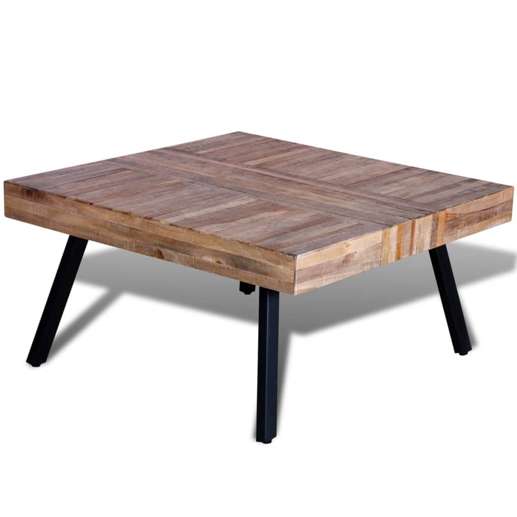Jerome S Square Coffee Table: Coffee Table Square Reclaimed Teak