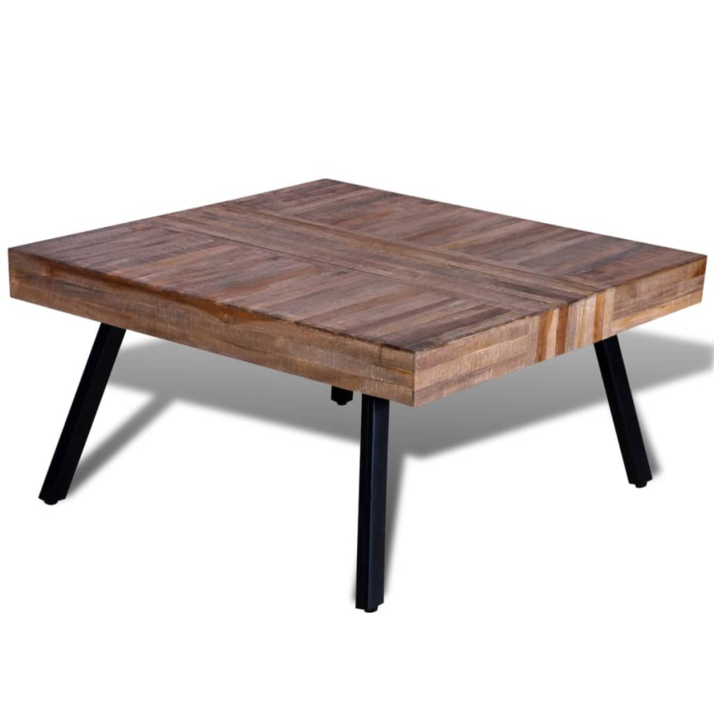 Coffee Table Square Reclaimed Teak
