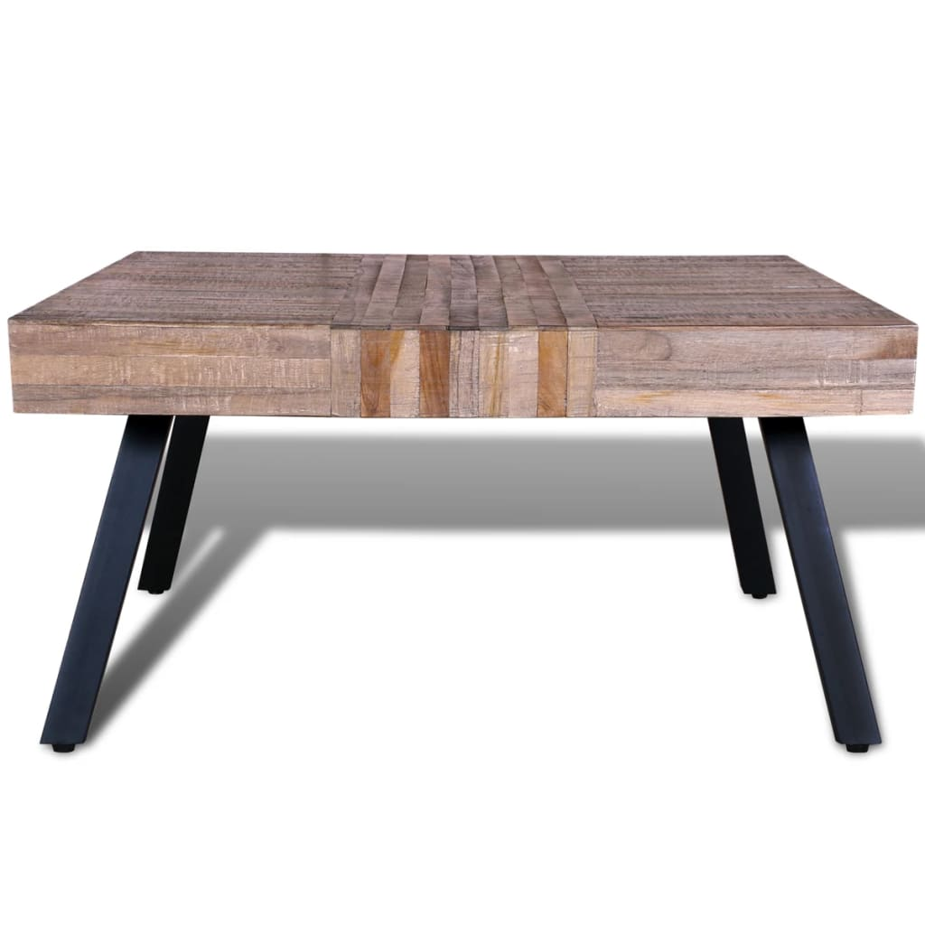 Vidaxl Coffee Table Teak Resin: Coffee Table Square Reclaimed Teak