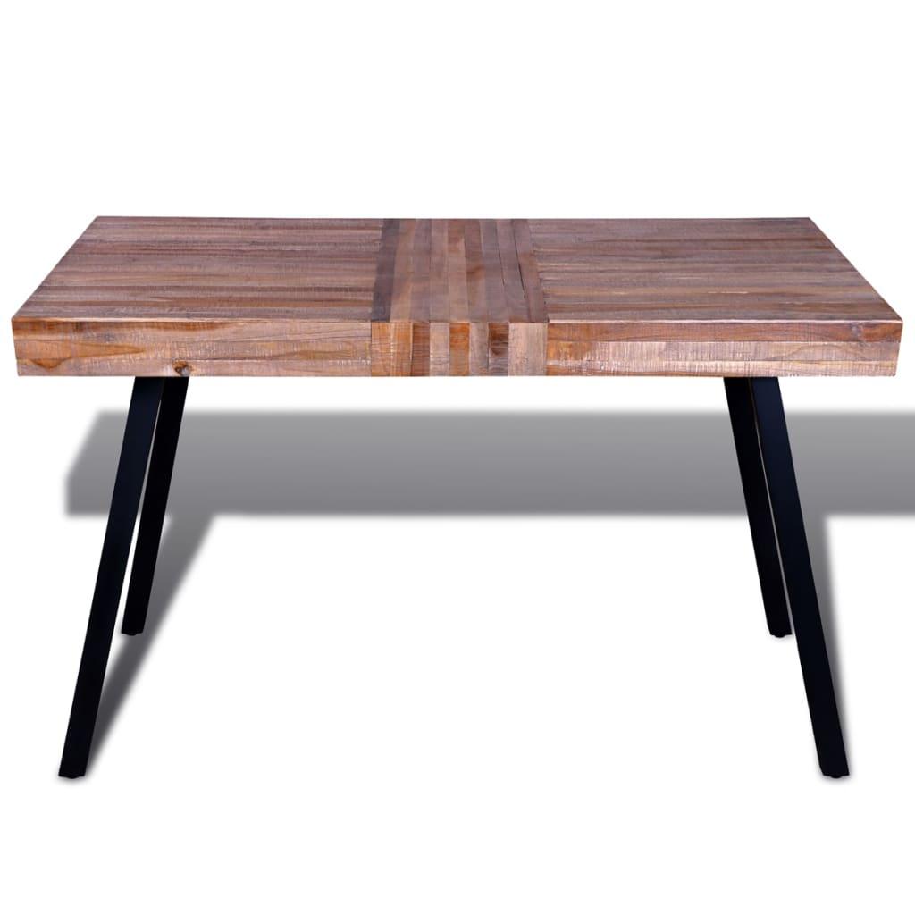 tafel gerecycled teak online kopen