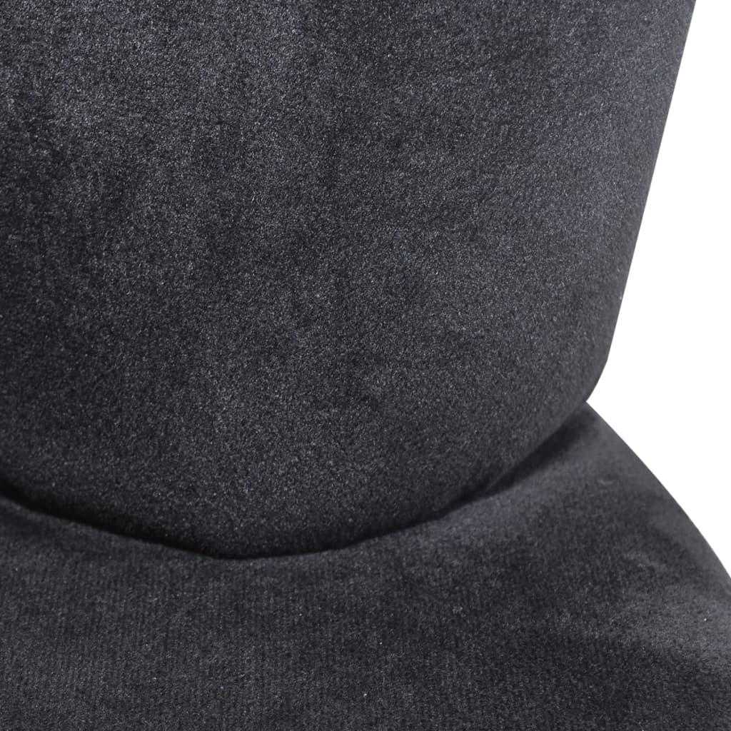 la boutique en ligne fauteuil en velours noir en forme de main. Black Bedroom Furniture Sets. Home Design Ideas