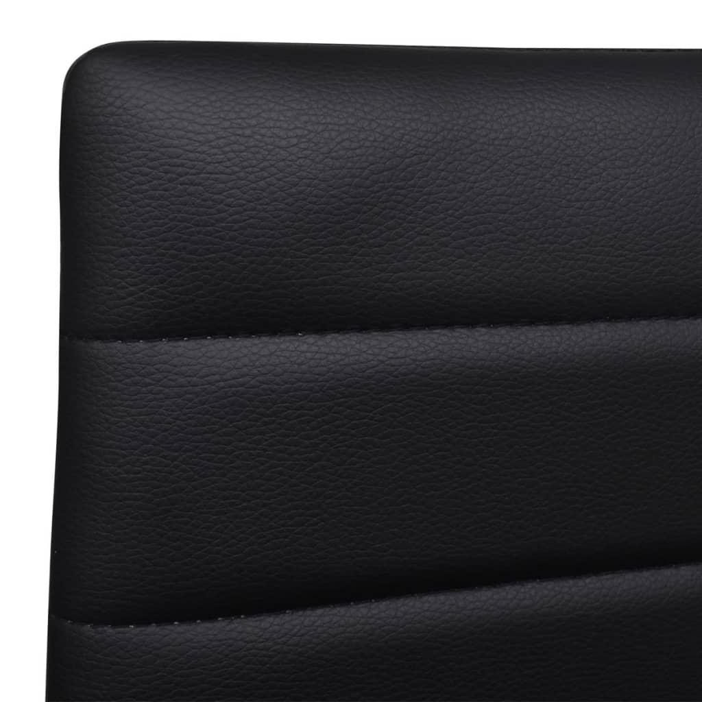 2-pcs-Black-Slim-Line-Dining-Chair