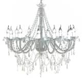 "vidaXL Chandelier White 32""x30"""