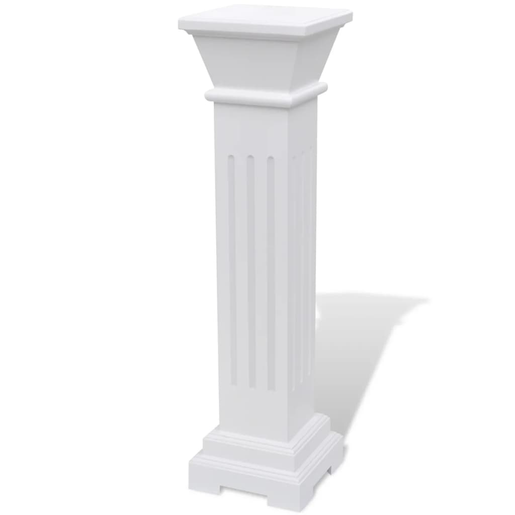 Classic square pillar plant stand mdf for Mdf square columns