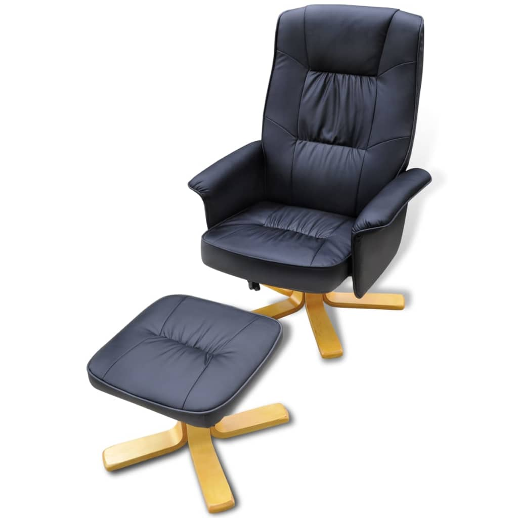 100 Leather Swivel Recliner Chair And Stool Fabric