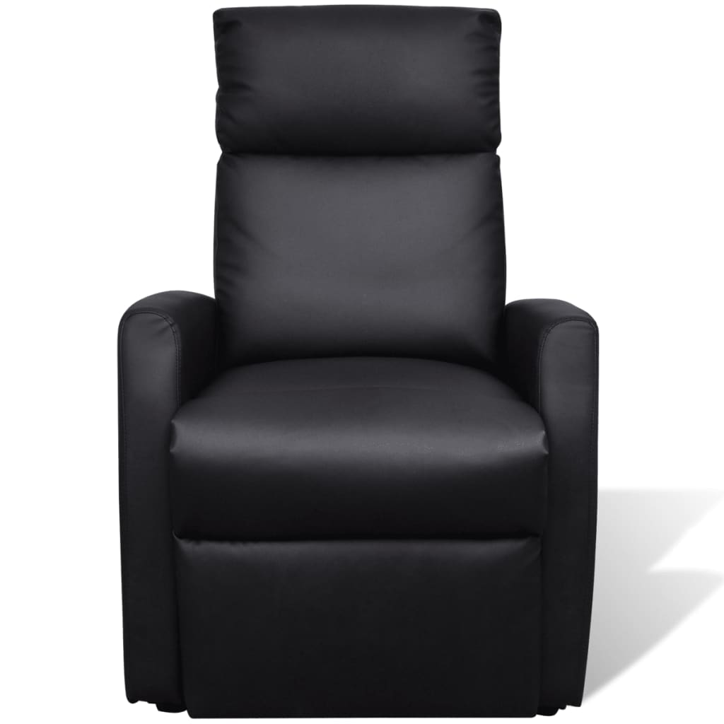 2 Position Electric Tv Recliner Lift Chair Black Vidaxl Com