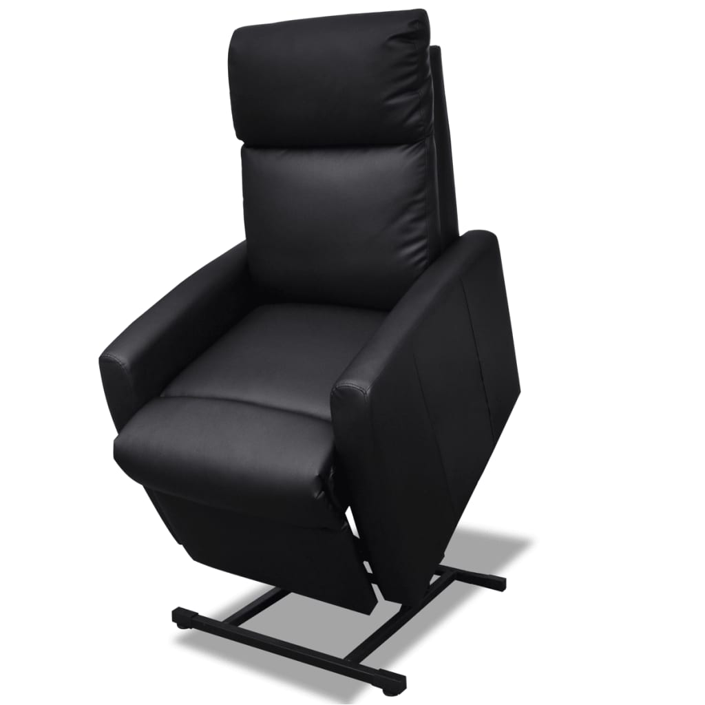 2 position electric tv recliner lift chair black. Black Bedroom Furniture Sets. Home Design Ideas