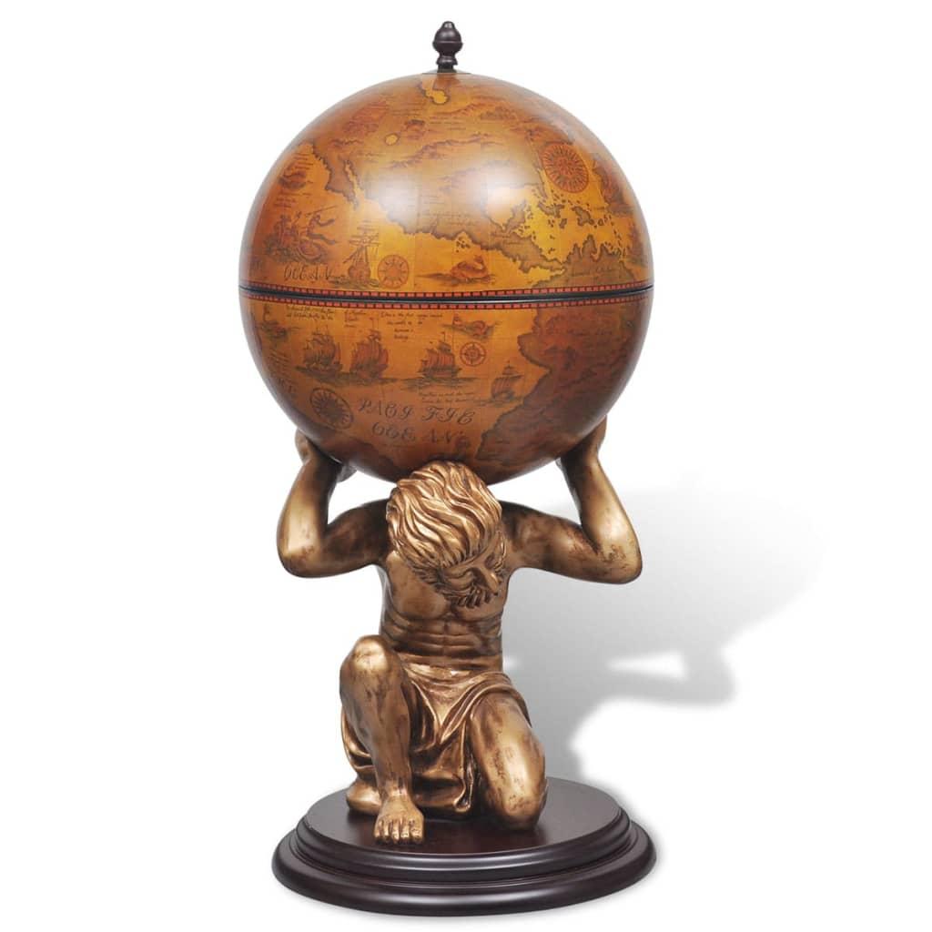 la boutique en ligne bar globe terrestre armoire vin atlas 42 x 42 x 85 cm. Black Bedroom Furniture Sets. Home Design Ideas
