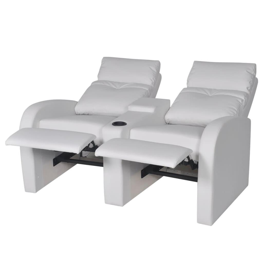 der kunstleder heimkino sessel relaxsessel sofa 2 sitzer. Black Bedroom Furniture Sets. Home Design Ideas