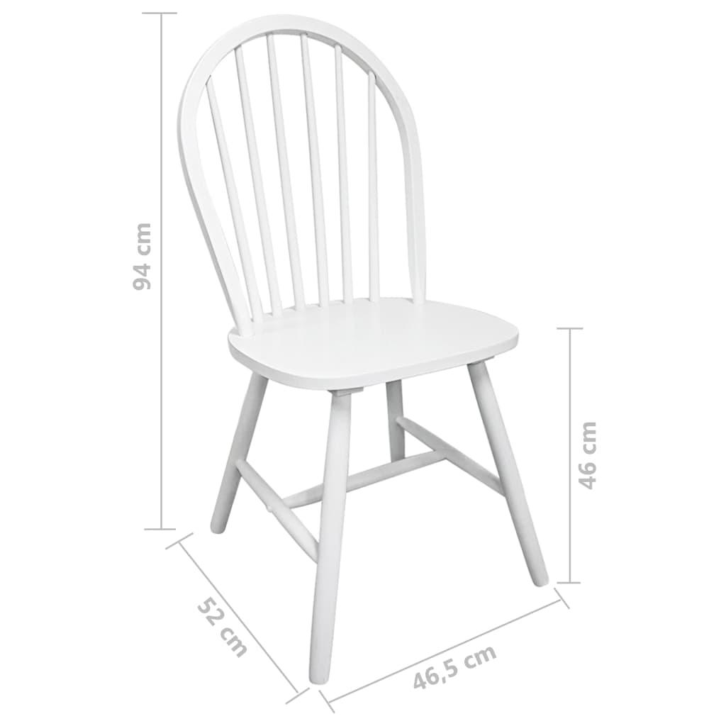 4x holz esszimmerstuhl k chenstuhl rund wei g nstig. Black Bedroom Furniture Sets. Home Design Ideas
