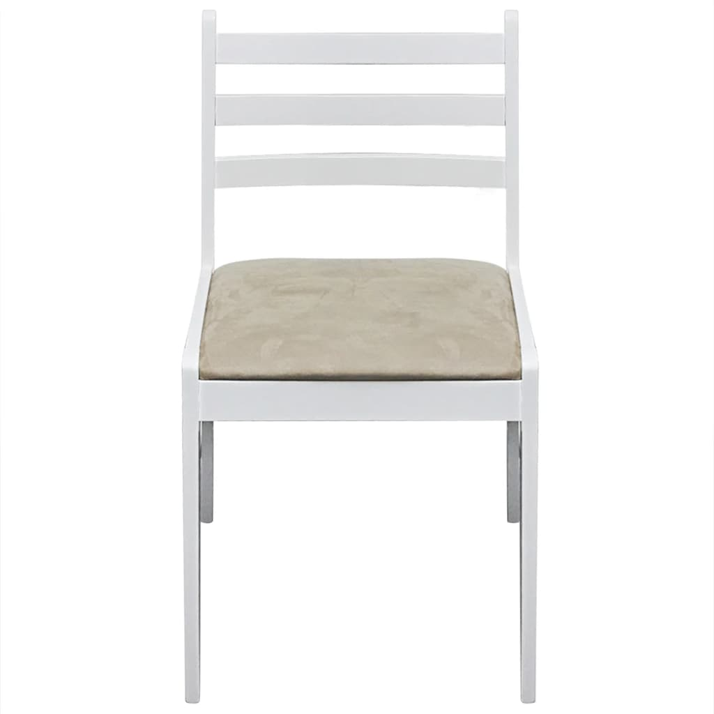 der 2x holz esszimmerstuhl k chenstuhl viereckig wei online shop. Black Bedroom Furniture Sets. Home Design Ideas