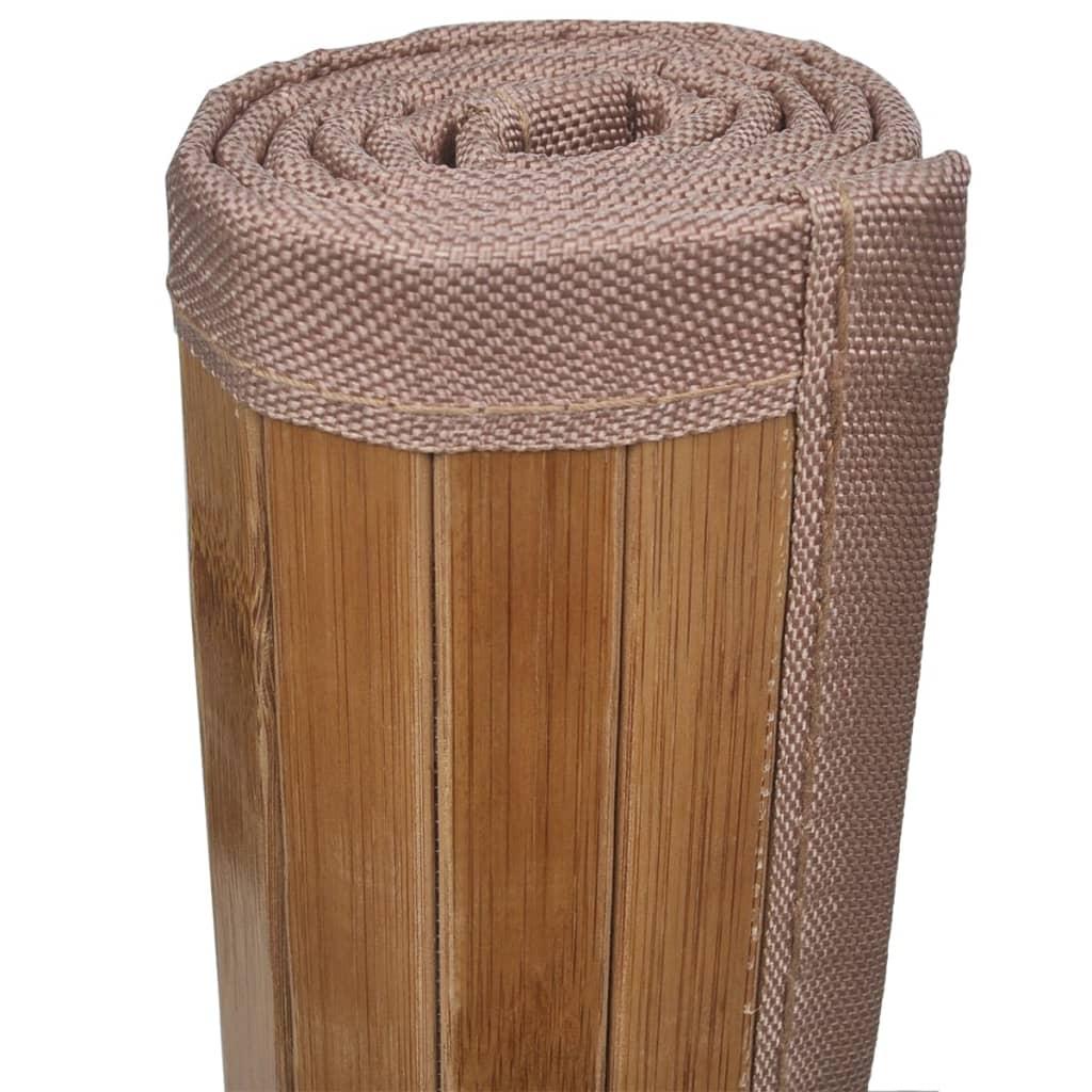 Articoli per 2 tappetini da bagno in bamboo 40 x 50 cm - Tappetini per bagno ...