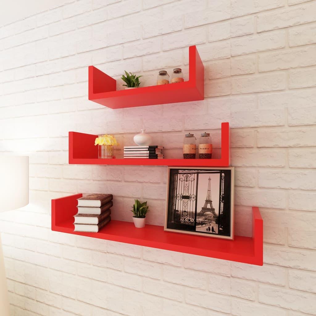 wandregal 3er set design b cher cd dvd regal h ngeregal cube lounge w rfel mdf ebay. Black Bedroom Furniture Sets. Home Design Ideas