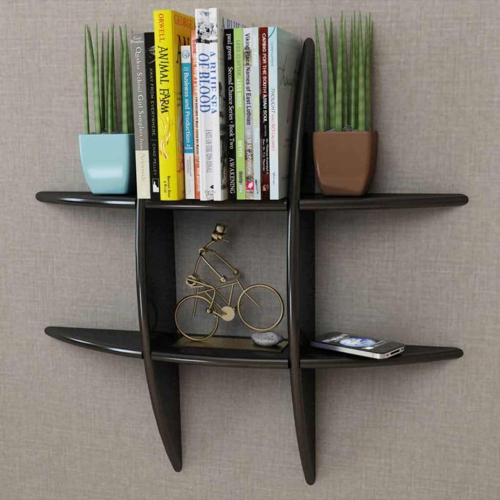 MDF-Floating-Cubes-Wall-Storage-Book-CD-Display-Shelf-Black