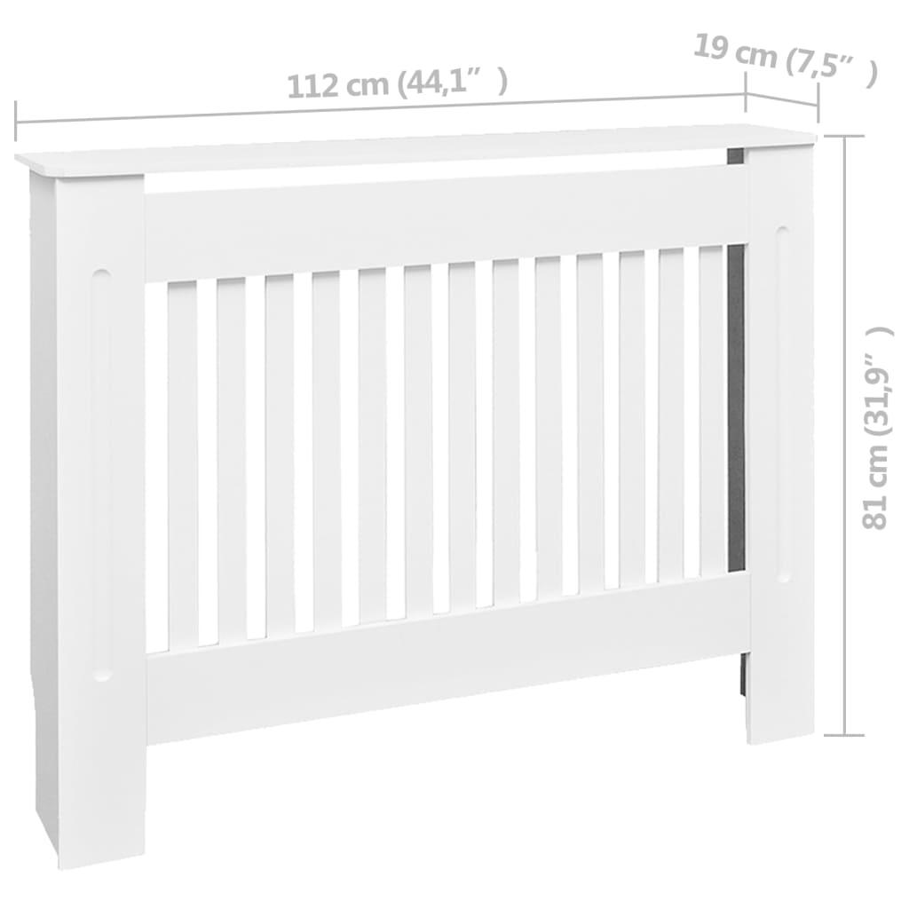 der mdf heizk rper abdeckung heizk rperverkleidung 112 cm. Black Bedroom Furniture Sets. Home Design Ideas