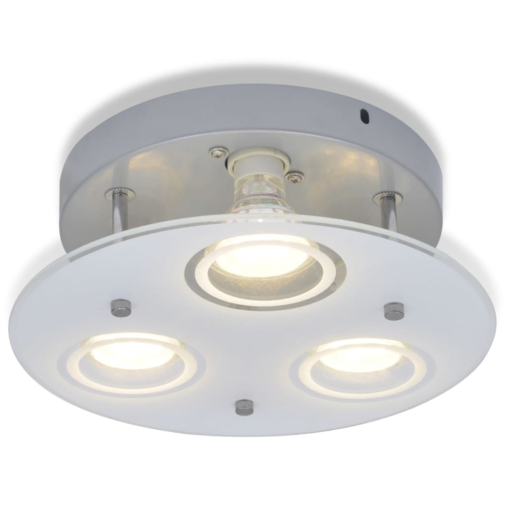 3-x-3-W-Round-LED-Ceiling-Down-Light-Lamp-with-3-Bulbs-Kitchen-Bathroom-Bedroom
