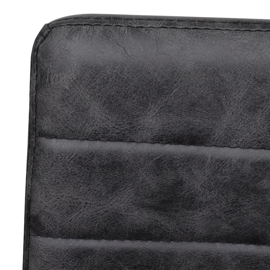 2 freischwinger esszimmerst hle mit armlehnen schwarz geriffelt g nstig kaufen. Black Bedroom Furniture Sets. Home Design Ideas