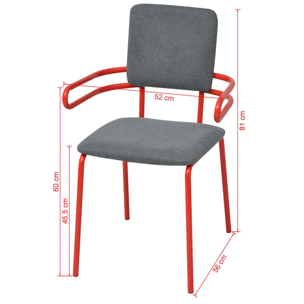 acheter vidaxl chaises fauteuil de salle manger 2. Black Bedroom Furniture Sets. Home Design Ideas