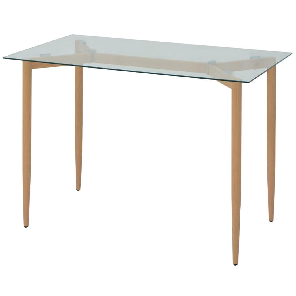 vidaXL 120x70x75 cm Étkező asztal