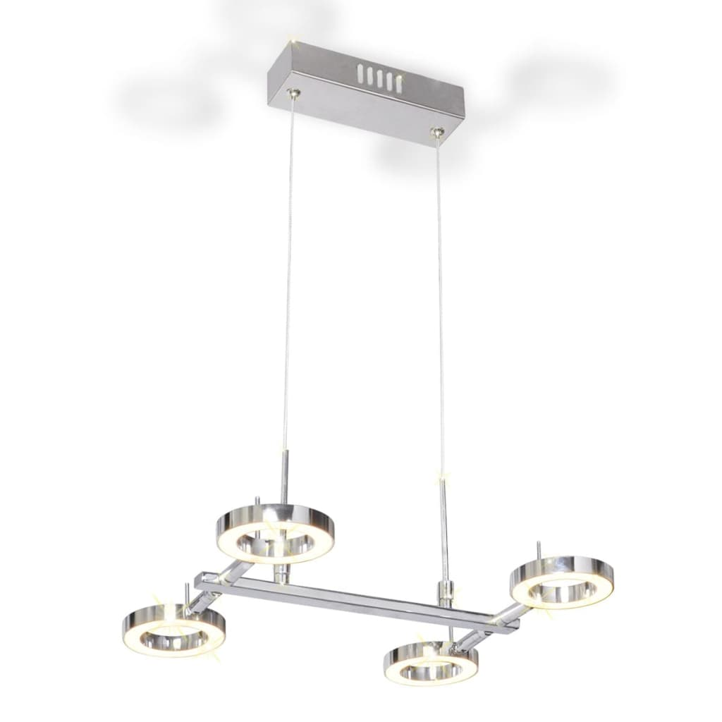 Acheter plafonnier en suspension led avec 4 ampoules for Suspension 4 ampoules