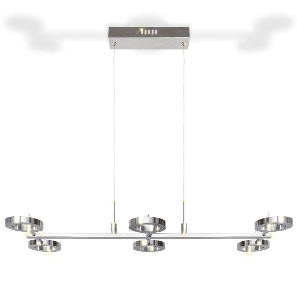 La boutique en ligne plafonnier en suspension led avec 6 for Suspension plafonnier