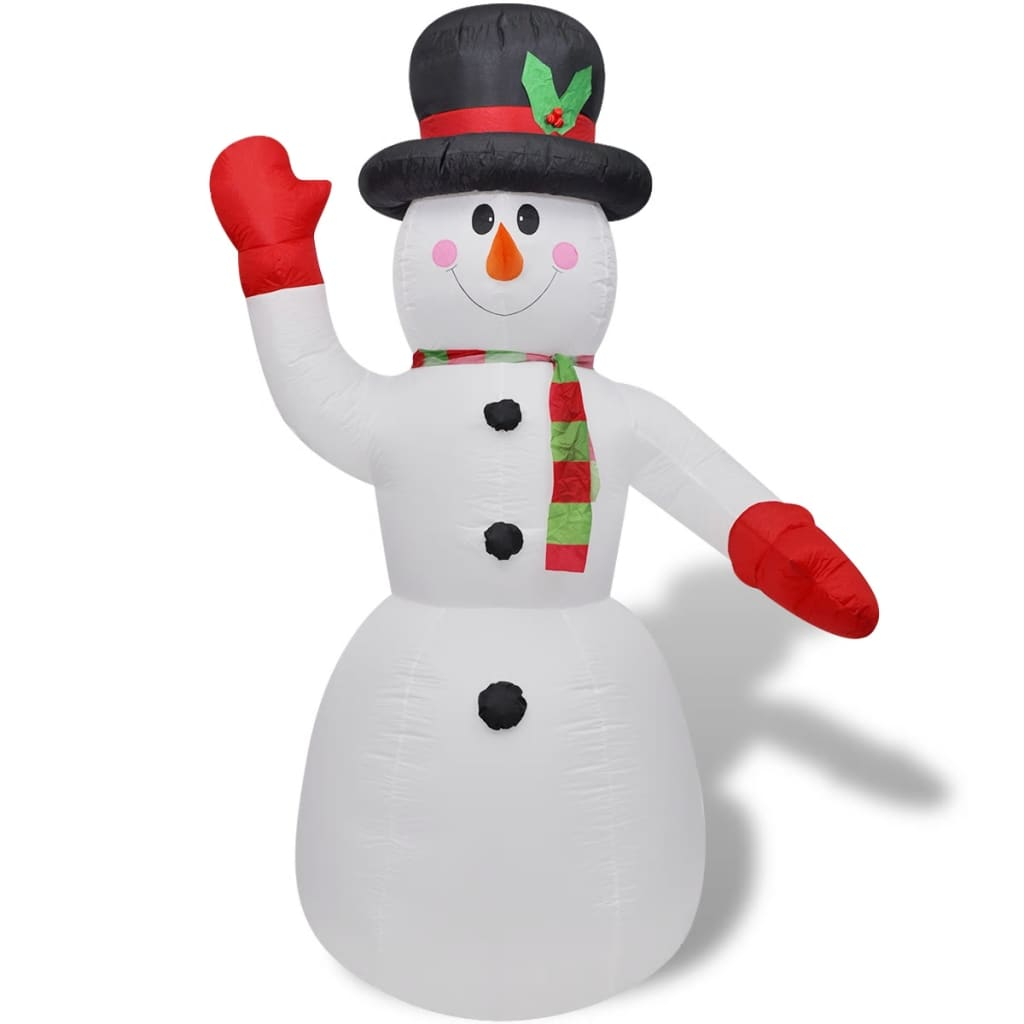 vidaXL-Nikolaus-Weihnachtsmann-Aufblasbar-Weihnachten-Figur-mehrere-Auswahl