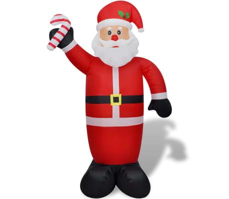 Täispuhutav jõuluvana 240 cm