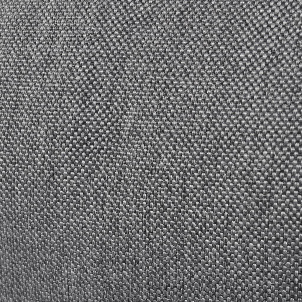 Acheter lit d 39 appoint sofa de relaxation compacte et pliable en tissu gris pas cher - Lit d appoint pas cher ...