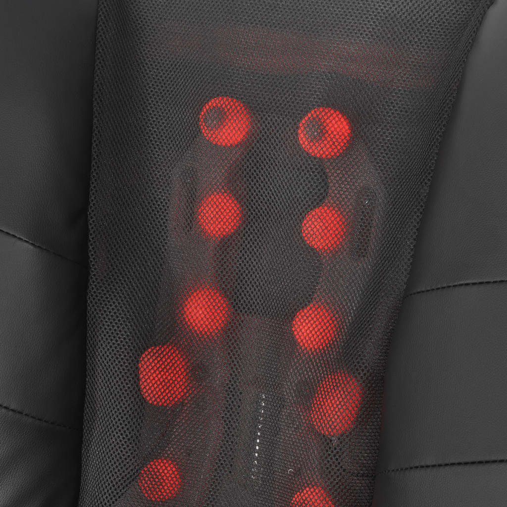 la boutique en ligne vidaxl fauteuil de massage shiatsu demi pu noir. Black Bedroom Furniture Sets. Home Design Ideas