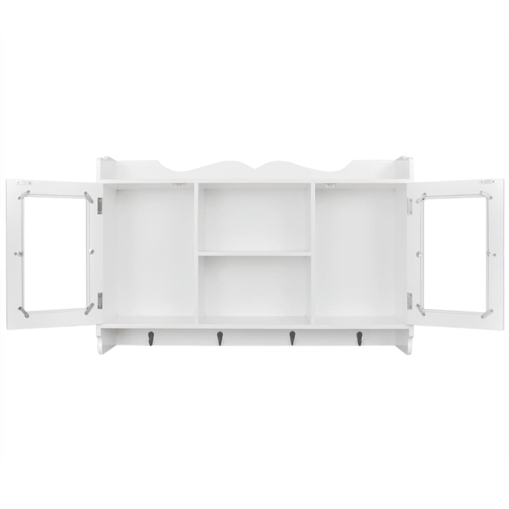 mdf wandschrank schrank regal b cher dvd gl ser. Black Bedroom Furniture Sets. Home Design Ideas
