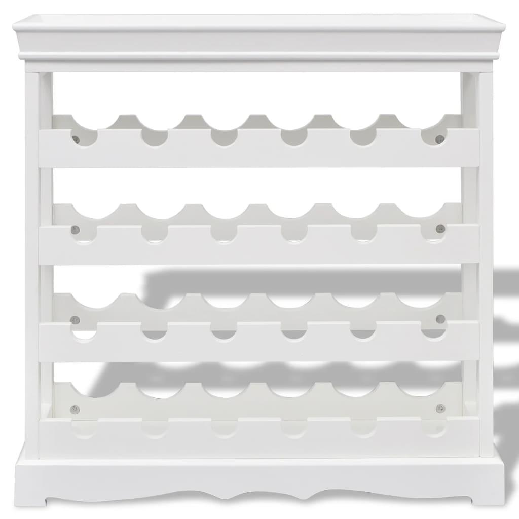 Acheter vidaxl casier bouteilles abreu blanc pas cher - Casier a bouteille pas cher ...
