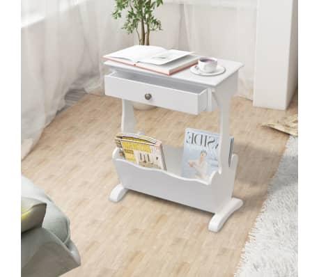 zeitschriftenst nder zeitschriftenhalter melrose wei g nstig kaufen. Black Bedroom Furniture Sets. Home Design Ideas