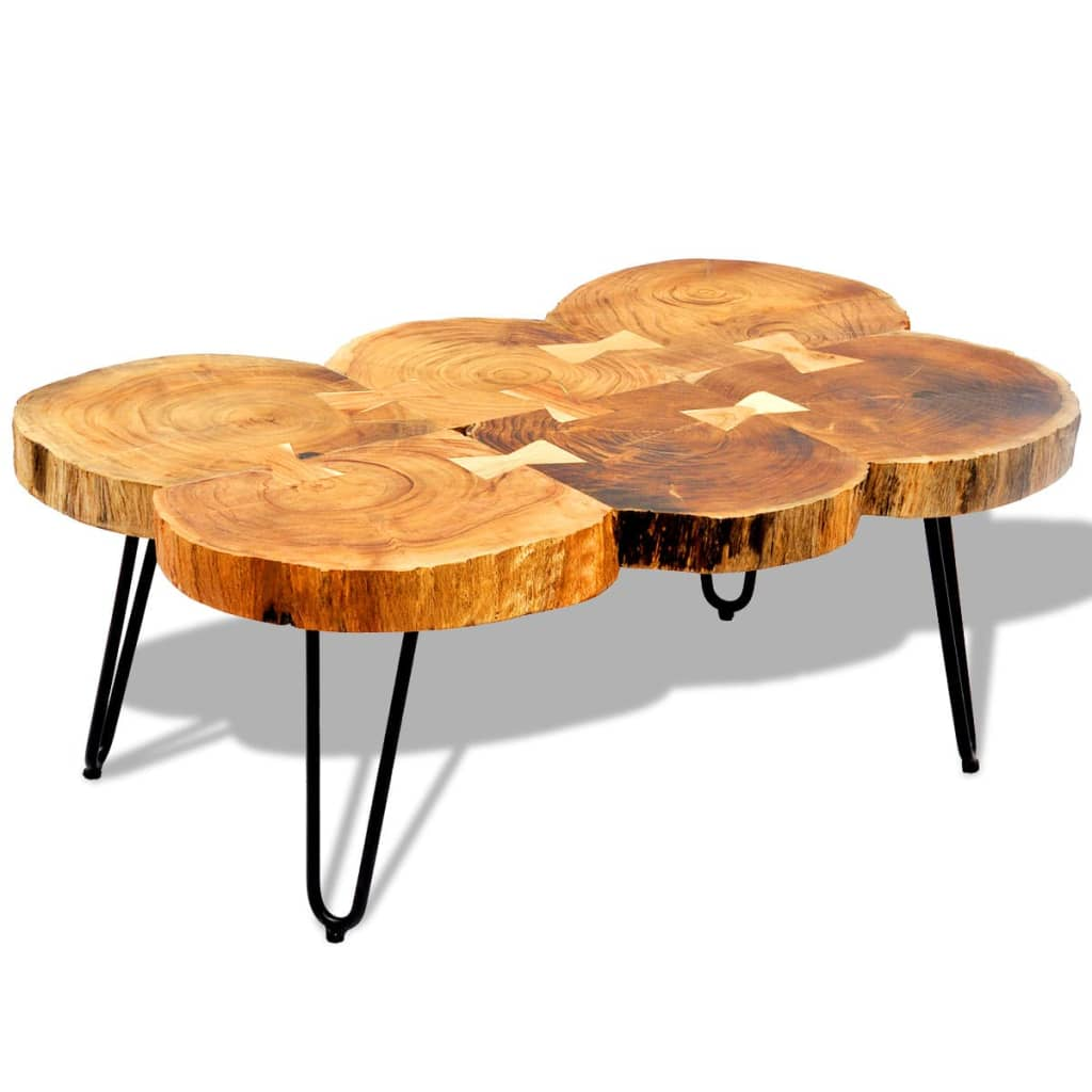 La boutique en ligne table basse table d 39 appoint en bois for Table basse d appoint