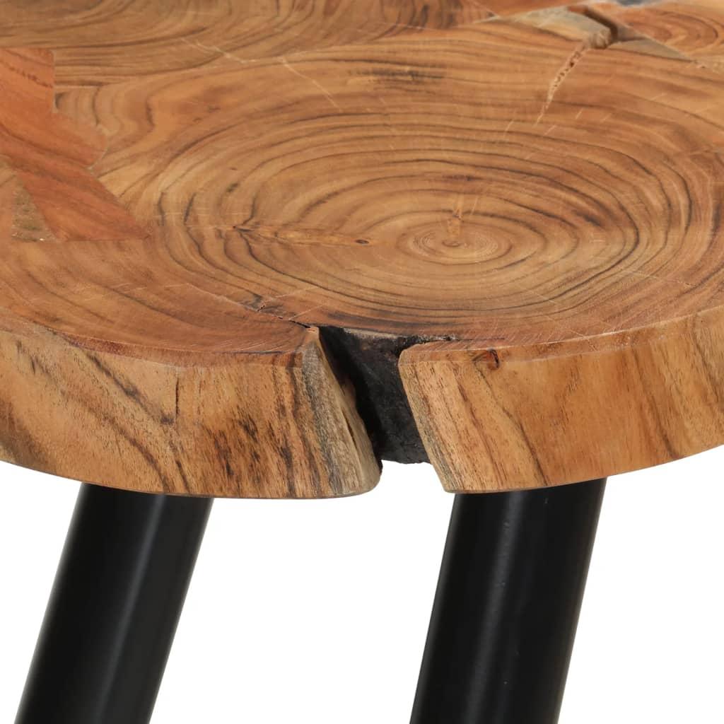 Couchtisch sheesham massivholz beistelltisch 35 cm 4 for Beistelltisch action