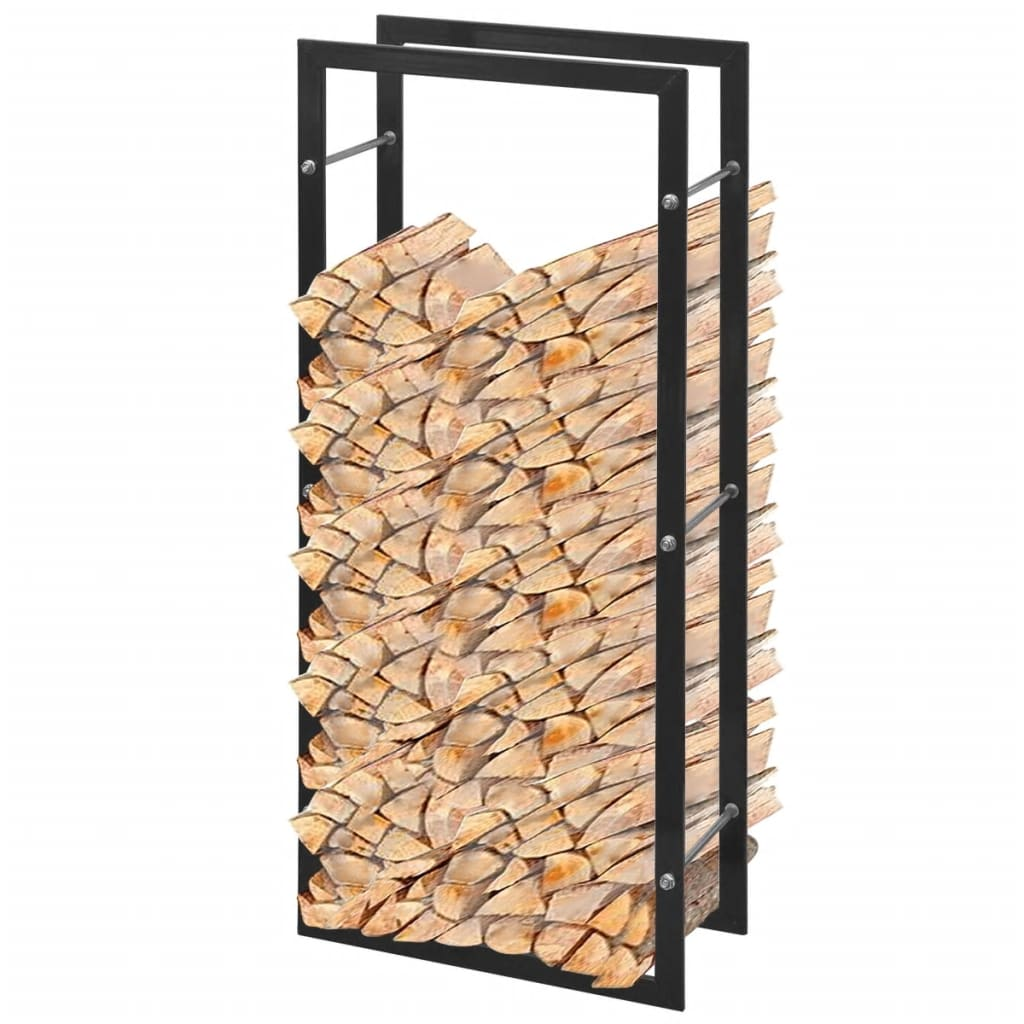 firewood rack rectangular 100 cm. Black Bedroom Furniture Sets. Home Design Ideas