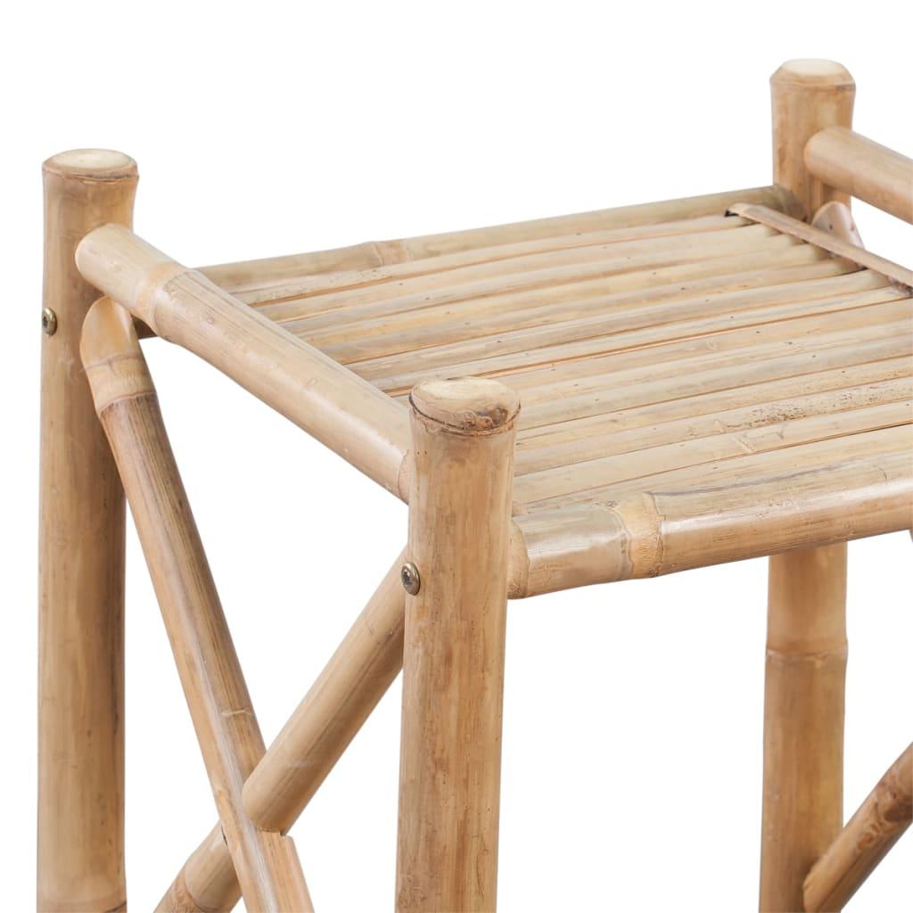 Scaffale a 5 piani in legno di bamb for Piani di coperta in legno