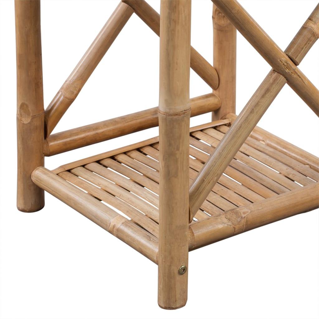Bambus regal 5 etagig viereckig g nstig kaufen Action regal