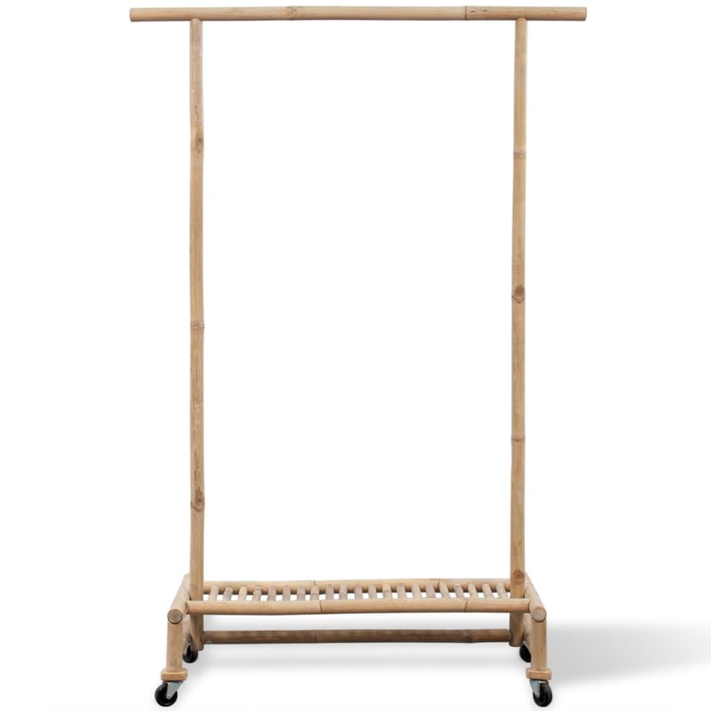 vidaXL se Klädhängare i bambu