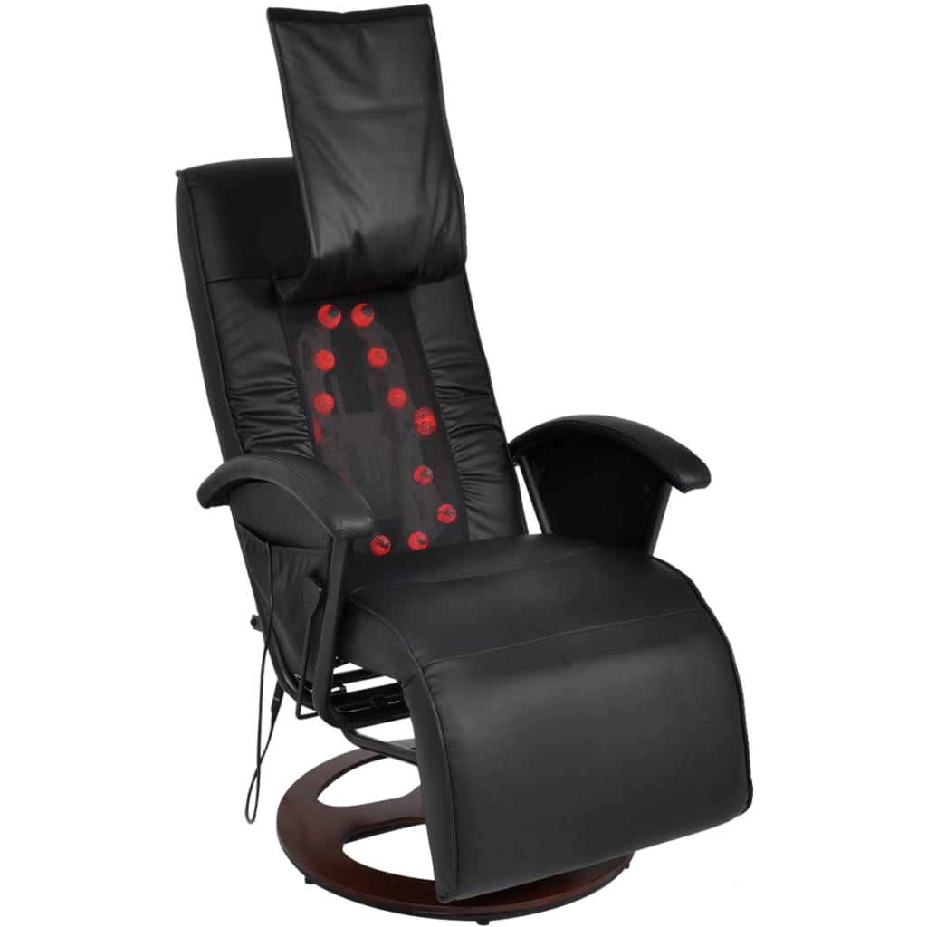 massagesessel fernsehsessel relaxsessel tv sessel liege shiatsu schwarz wei ebay. Black Bedroom Furniture Sets. Home Design Ideas
